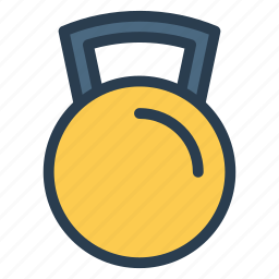 alarm, bell, hotel, point, ring, service, sound icon