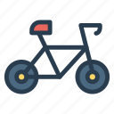 bicycle, circus, cycle, motorcycle, ride, travel, wheel icon