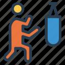 avatar, boxer, boxing, gloves, man, sport, sports