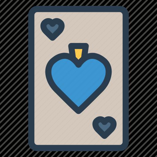 card, casino, fun, game, play, playing, poker icon