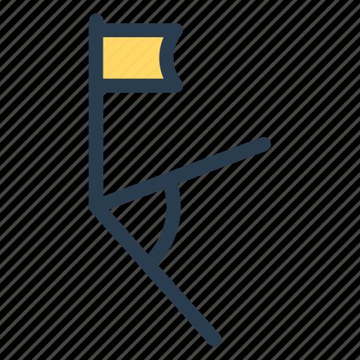 achieve, destination, flag, goal, mark, national, pin icon