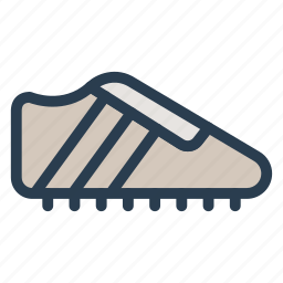 cricket, footwear, man, shoes, sneakers, sports, trainers icon
