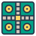 fun, game, indoor, ludo, ludoboard, play, sports icon