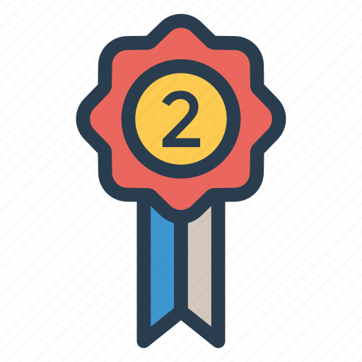 achievement, awards, badge, gold, medal, prize, trophy icon
