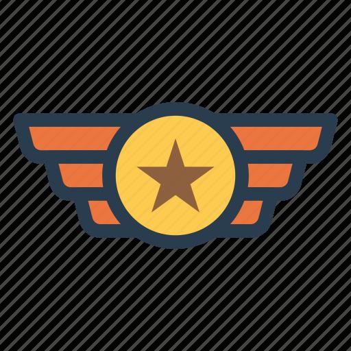 badge, gold, medal, prize, reward, trophy icon