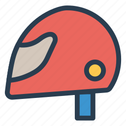 hat, headwear, helmet, instrument, protect, racing, safety icon