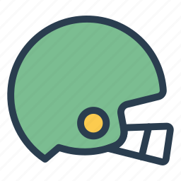 fitness, football, game, hat, headwear, helmet, safety icon