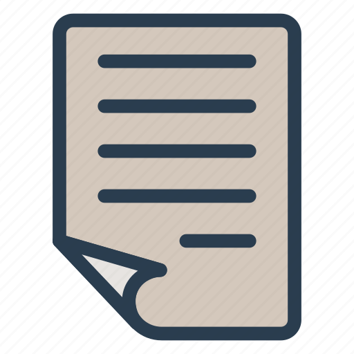 file, form, information, note, notepad, page, text icon