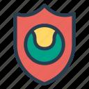 antivirus, ball, firewall, game, safe, security, shield icon