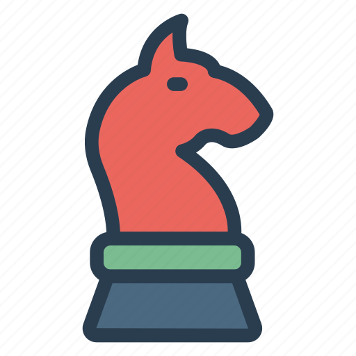 animal, chess, decoration, game, king, playing, toy icon