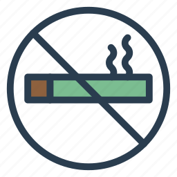cigarette, nosmoking, restriction, sign, smoke, tobacco, warning icon
