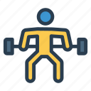 avatar, body, dumbbell, fitness, gym, lifter, weight