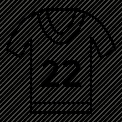 clothes, kit, man, shirt, sport, tshirt, uniform icon