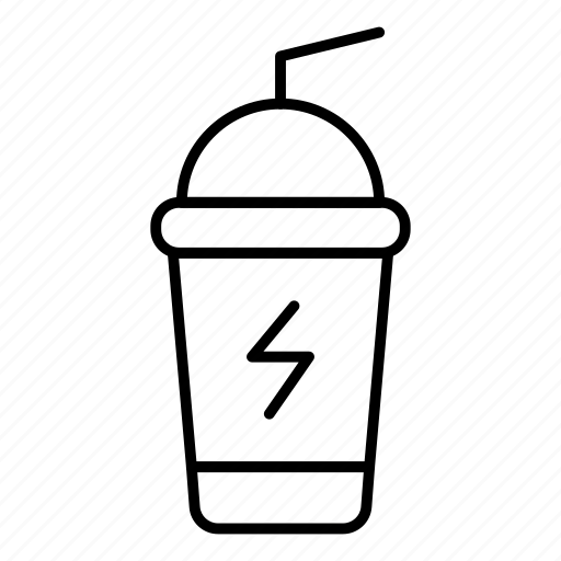 cup, drink, fruit, glass, juice, orange, soda icon
