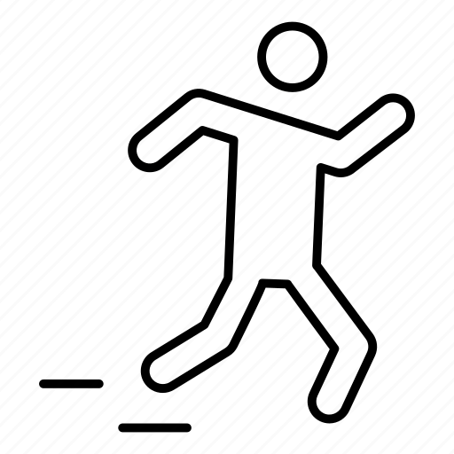 club, fitness, game, move, run, speed, sport icon