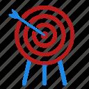 archery, arrow, olympic, sport, target icon