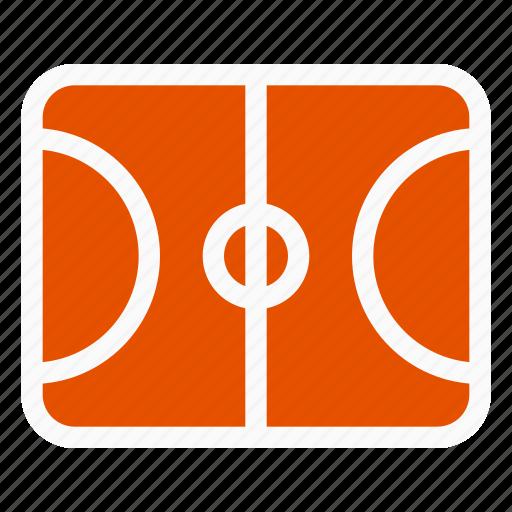 basketball, basketball field, field, game, sport icon