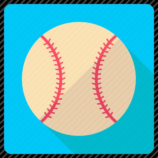 baseball, rounder, softball, sport gear, team sports icon