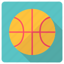 basketball, equipment, hoop, sport gear, team sports icon