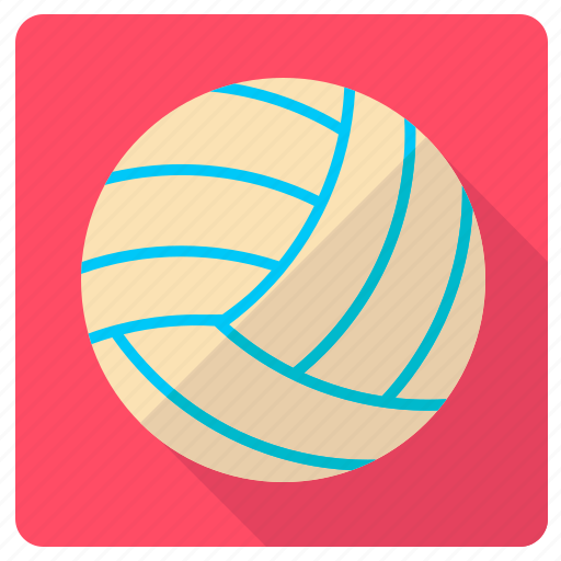 equipment, leisure, sport and competition, team sports, volleyball icon