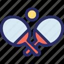 game, tennis, tennis ball, tennis bat, tennis racket icon