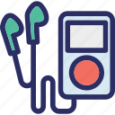 ipod mini, mp4 player, music, music player, music pod, walkman icon