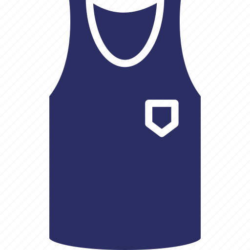 gym vest, runner vest, sports vest, sportswear, vest icon