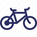 bicycle, bike, cycle, pedal cycle, sports icon