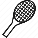 game, racket, sport, tennis, tennis racket icon