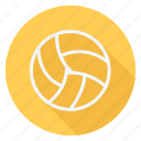 ball, fitness, game, play, sport, sports, volleyball icon
