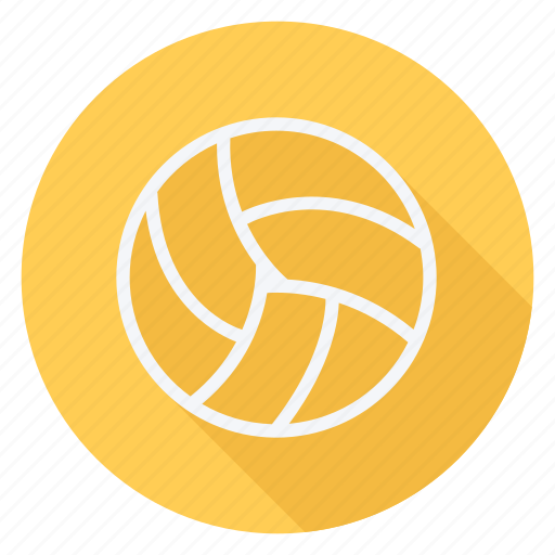 Fitness, game, play, sport, sports, ball, volleyball icon - Download on Iconfinder