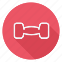 dumbbell, fitness, game, games, play, sports, weightlifting icon