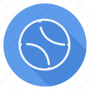 ball, fitness, game, play, sport, sports, tennis ball icon
