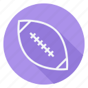 american football, ball, fitness, games, play, sport, sports icon