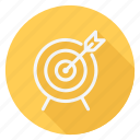 aim, archery, fitness, game, games, play, sport icon