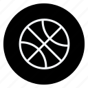 ball, basketball, fitness, game, play, sport, sports icon