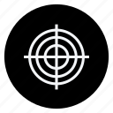 aim, fitness, game, play, sport, sports, target icon