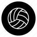 ball, bolleyball, fitness, game, games, sport, sports icon