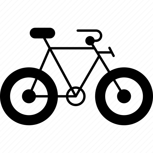 bike, cycle, exercise, riding, travel icon