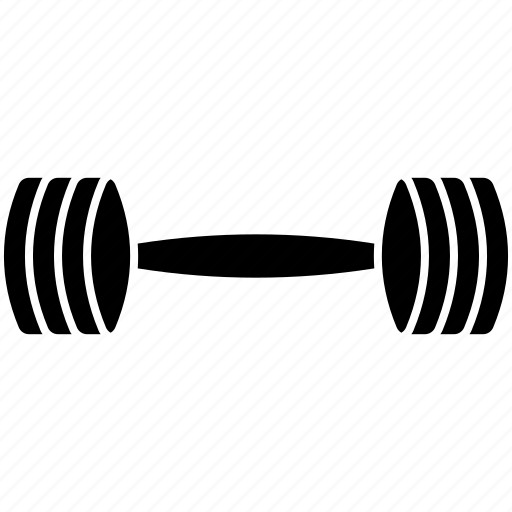 dumbbell, exercise, fitness, gym, weight icon