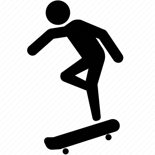 flip, pro, skateboard, skateboarder, trick icon