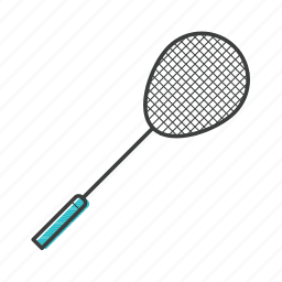 badminton, bat, game, racket, racquet, sport, tennis icon