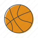 nba, basketball, sport, ball icon