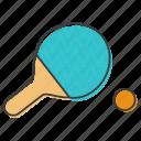 bat, ping, pong, racket, racquet, tennis
