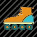 inline, roller, skates, skating, sport