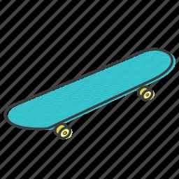 board, skate, skateboard, sport icon