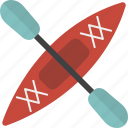 boat, kayak icon