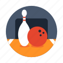 bowling, bowling pin, competition, game, sport icon