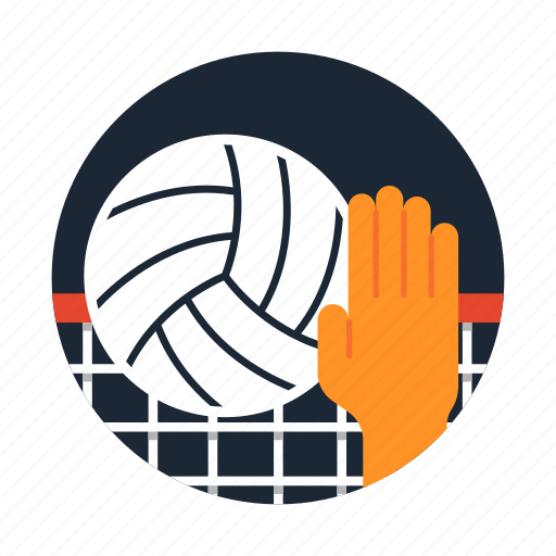 equipment, net, sport and competition, team sports, volleyball icon
