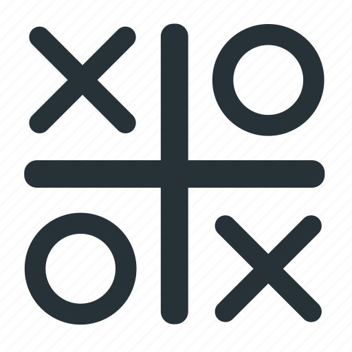 enjoy, game, play, tic tac toe icon